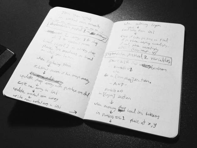 Pseudo Code Sketchbook